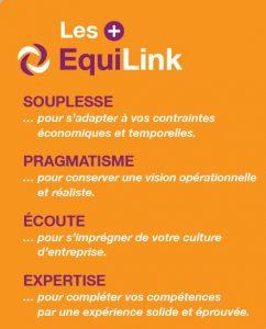 Les plus d'EquiLink